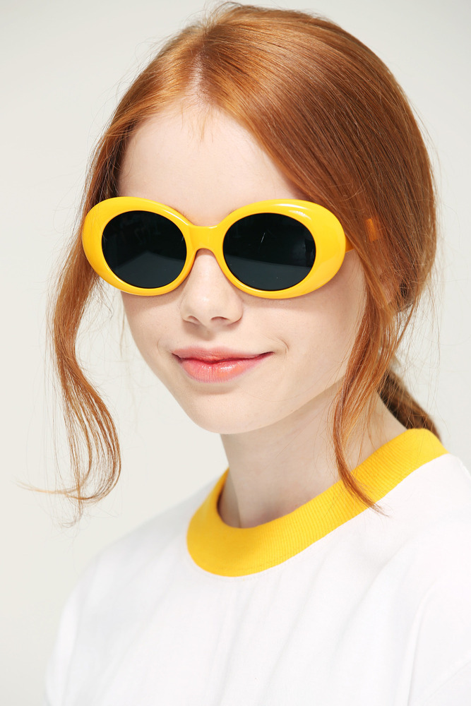 [Summer 40%Sale 6.14 - 6.20] Round k0220-yellow
