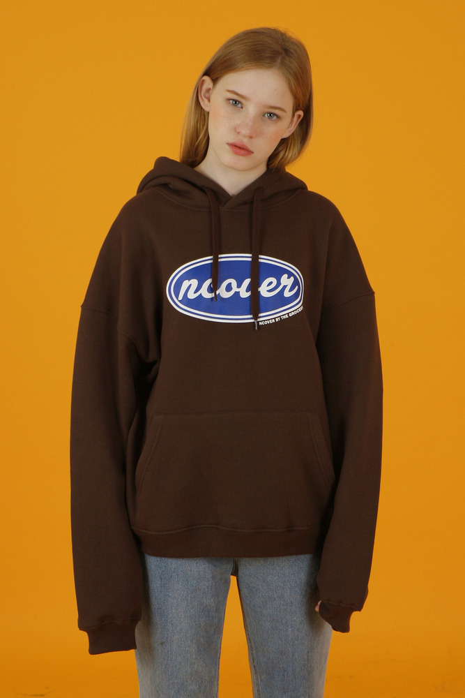 [35%SALE][앤커버] Ncover hoodie-brown (기간한정세일 4.26 - 5.02)