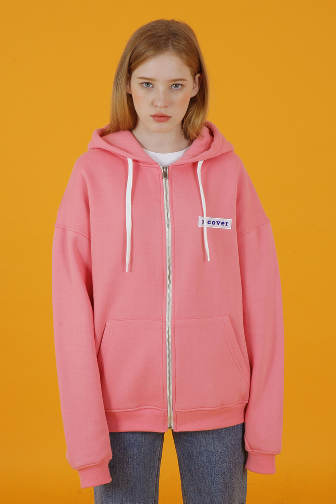 [35%SALE] [앤커버] Ncover hoodie zipup-pink (기간한정세일 3.22 - 3.28)
