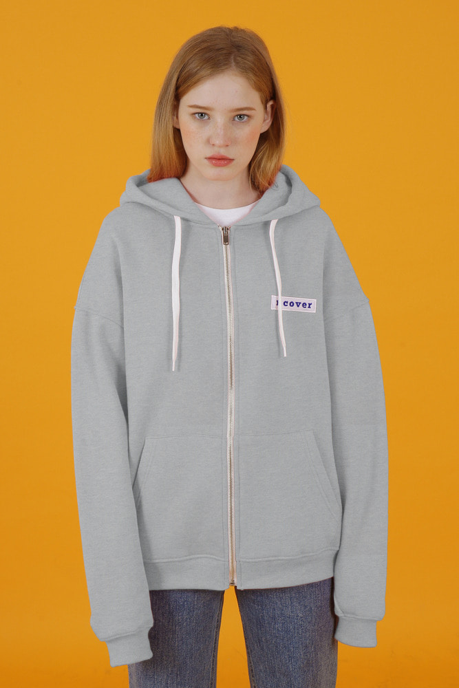 [35%SALE][앤커버] Ncover hoodie zipup-gray (기간한정세일 1.18 - 1.24)