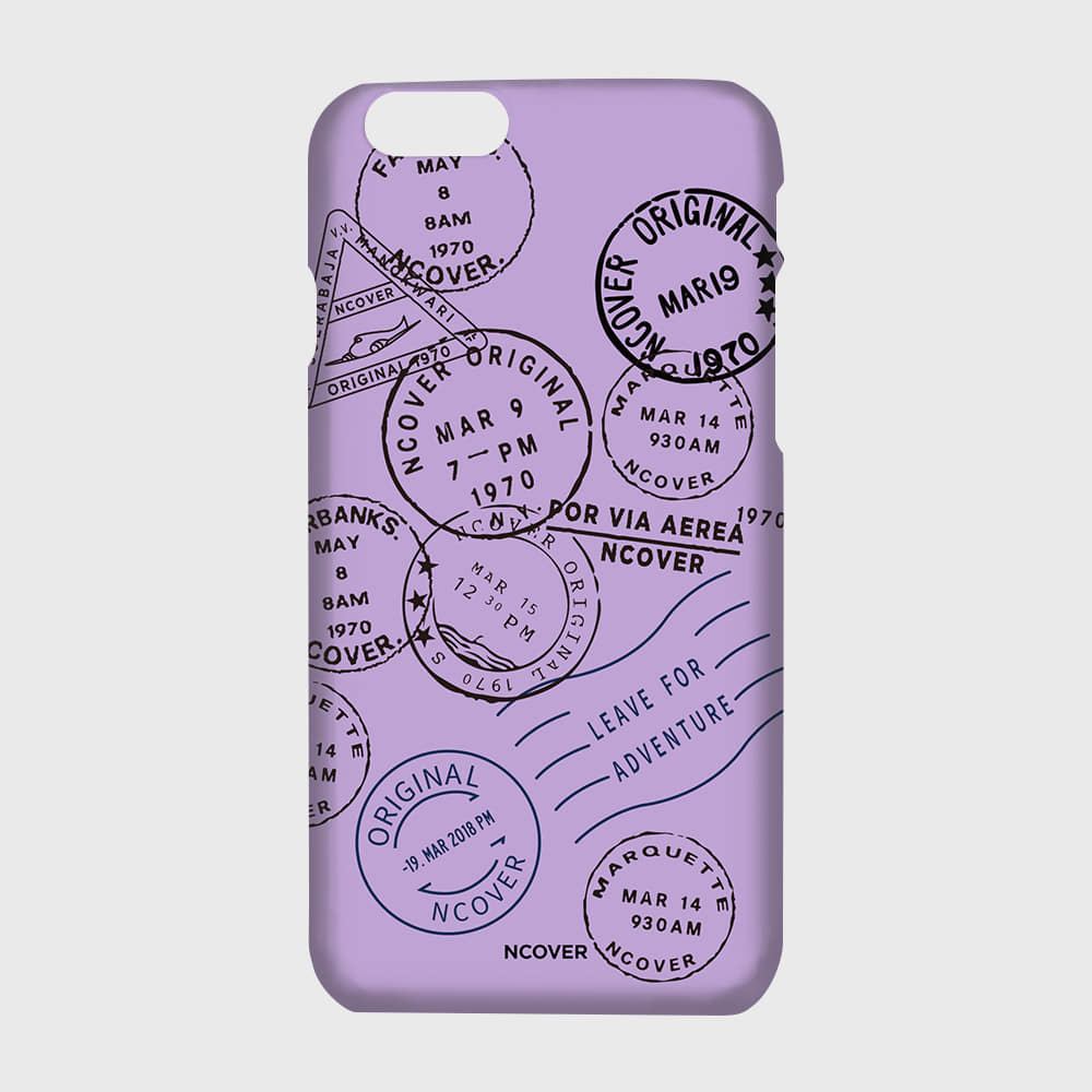 [앤커버] Travel stamp-purple THANK YOU 50% SALE! (1.18 - 1.24)