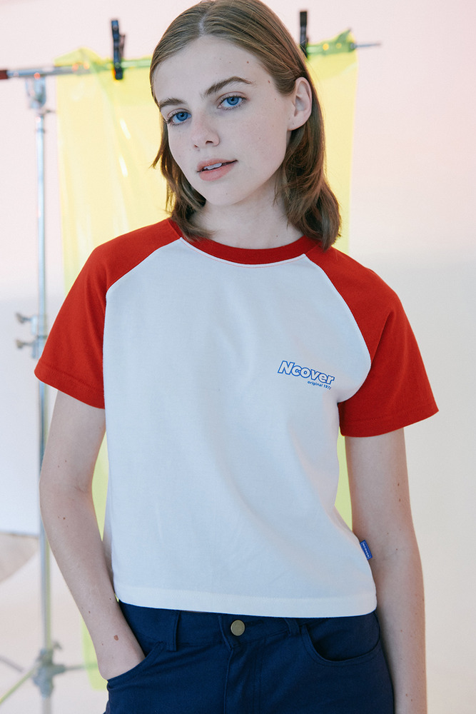 [Summer 50%Sale 6.14 - 6.20] Signature logo tshirt-red