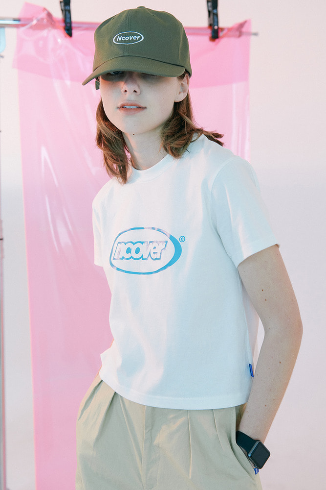 [35%SALE] [앤커버] Summer logo tshirt-white (기간한정세일 2.15 - 2.21)