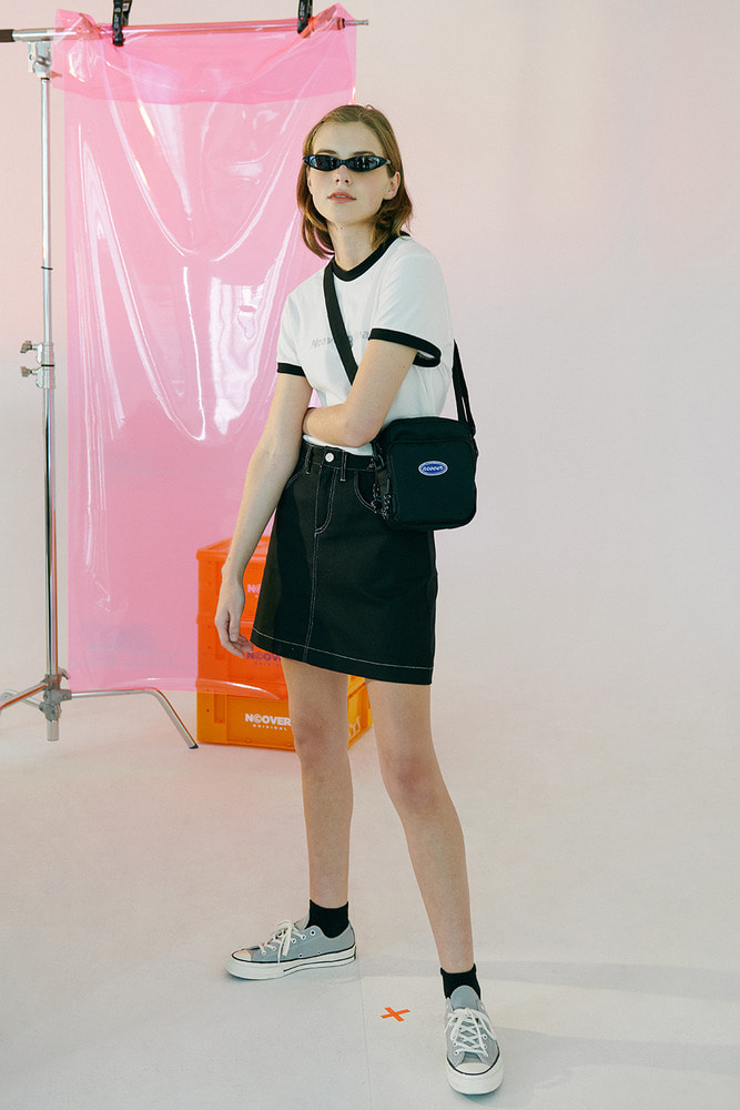 [Hot summer 35%Sale 6.21 - 6.27] basic skirt-black