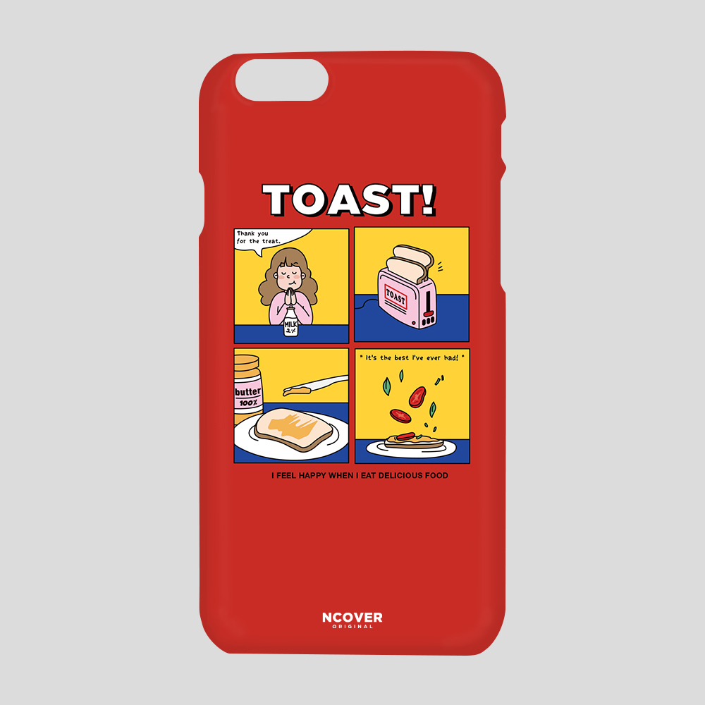 [앤커버] Toast-red THANK YOU 50% SALE! (2.15 - 2.21)
