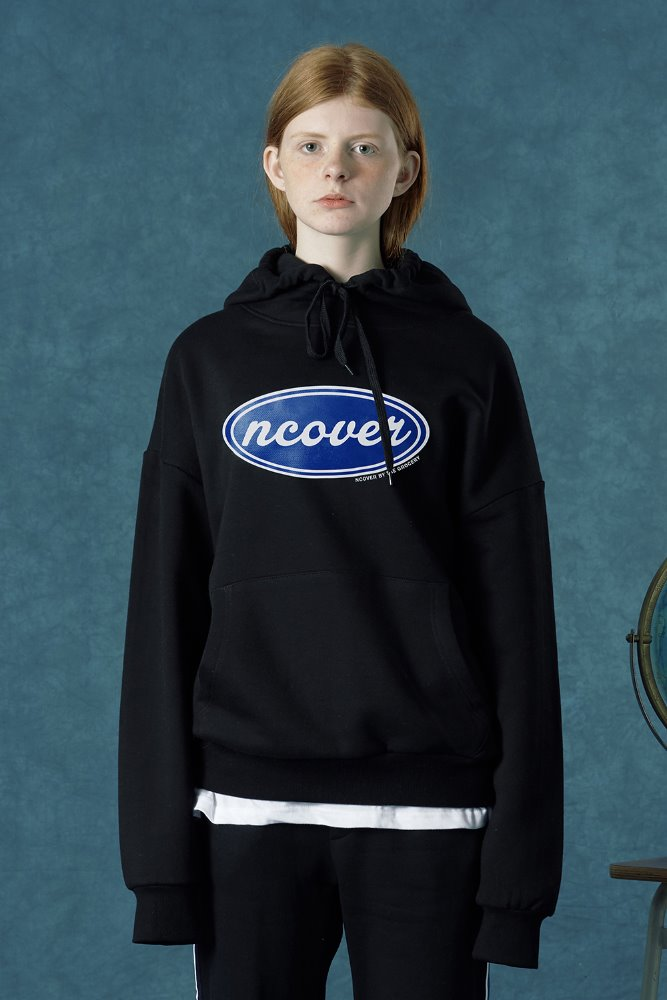 [Summer 35%Sale 6.14 - 6.20] ncover hoodie-black/blue