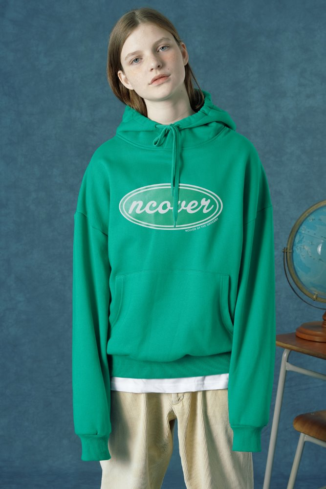 [35%SALE][앤커버] ncover hoodie-mint (기간한정세일 1.18 - 1.24)
