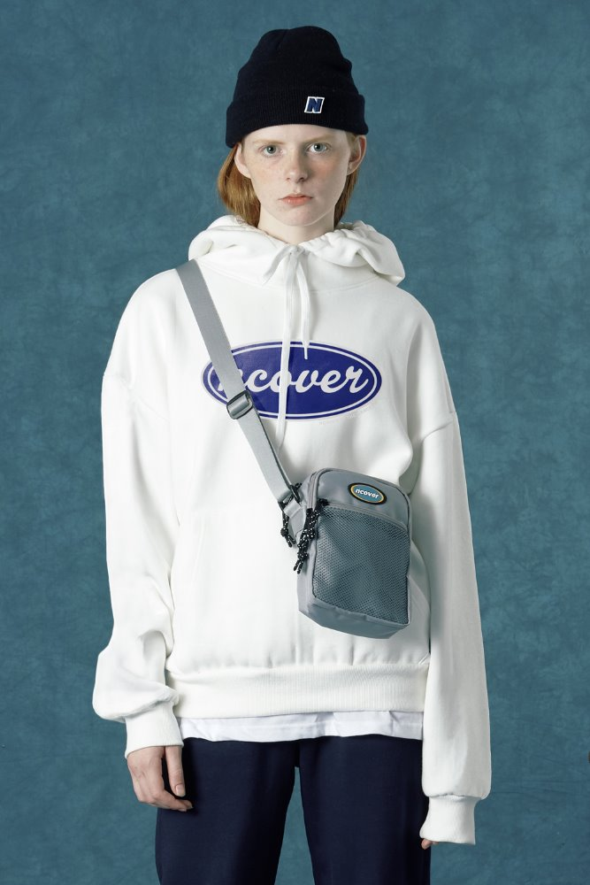 [Summer 35%Sale 6.14 - 6.20] ncover hoodie-white