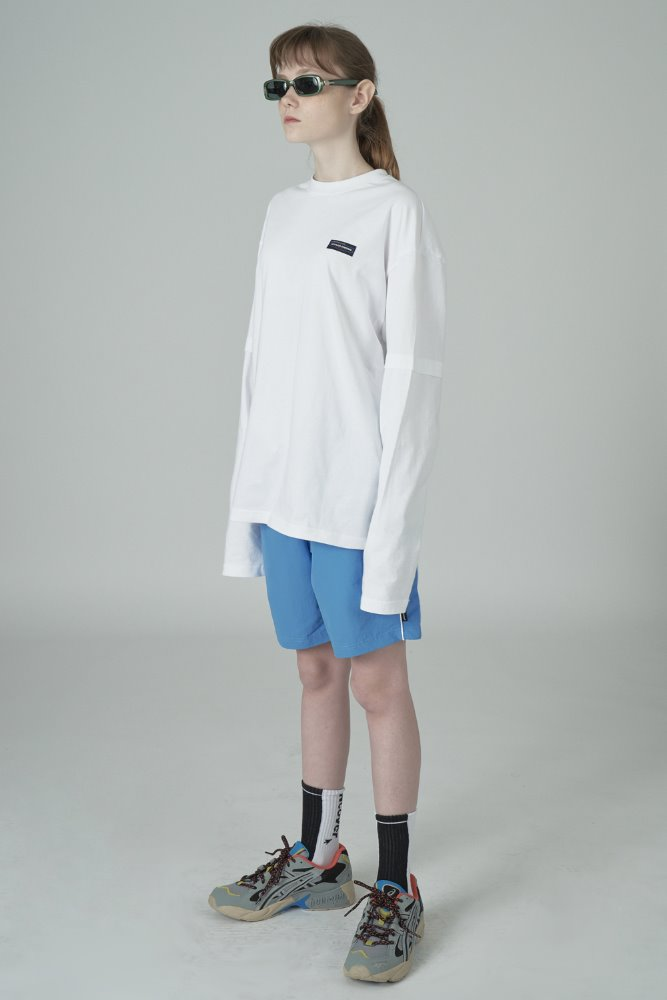 [기간한정세일 01.22 - 01.28]WOVEN TRAINING SHORTS-BLUE