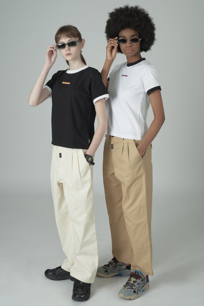 [기간한정세일 07.03 - 07.09][N]Cursor point cotton pants-beige