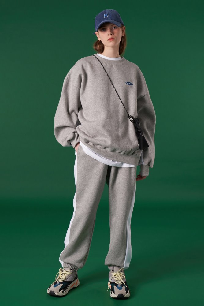 [기간한정세일 09.11 - 09.17][N]Original small logo training pants-grey