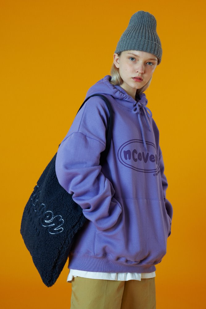 [기간한정세일 07.03 - 07.09][N]Embroidery fleece ecobag-navy