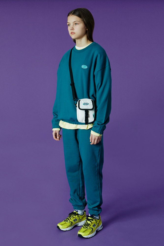 [기간한정세일 01.22 - 01.28]SMALL ORIGINAL HANDWRITING TRACK PANTS-EMERALD