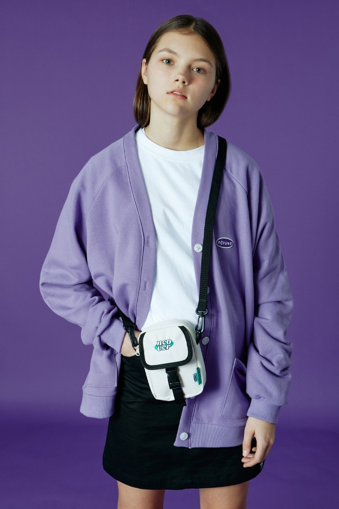 [기간한정세일 01.22 - 01.28]ORIGINAL HANDWRITING CARDIGAN-LIGHT PURPLE
