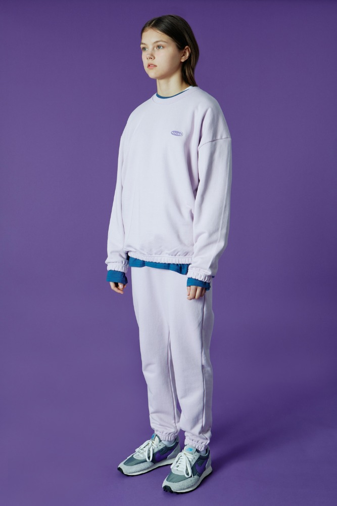 [기간한정세일 07.03 - 07.09][N]Small Original handwriting track pants-light purple