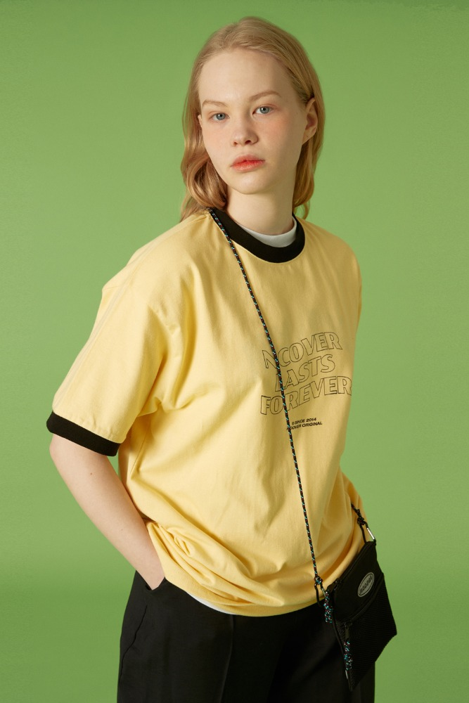 [기간한정세일 07.03 - 07.09][N]NLF layout ringer tee-yellow