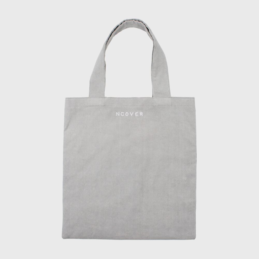 [앤커버] Gray-corduroy big eco bag THANK YOU 50% SALE! (07.20-07.26)