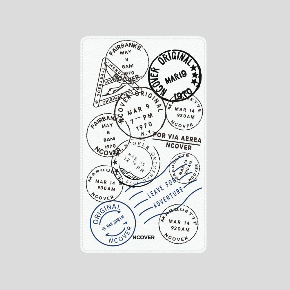 [앤커버] Travel stamp-white(battery) THANK YOU 50% SALE! (4.13-4.19)