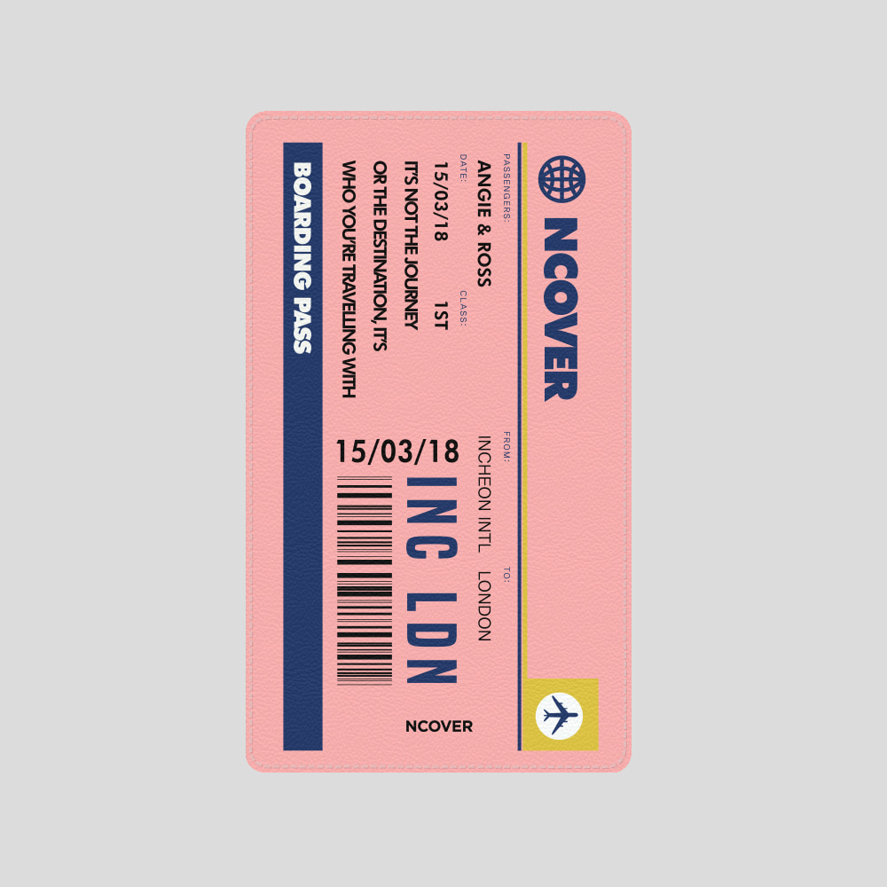 [앤커버] Travel ticket-pink(battery) THANK YOU 50% SALE! (4.13-4.19)