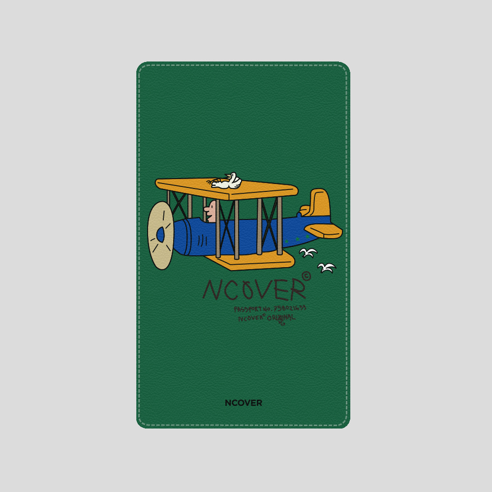 [앤커버] Duck airplane-green(battery) THANK YOU 50% SALE! (4.13-4.19)