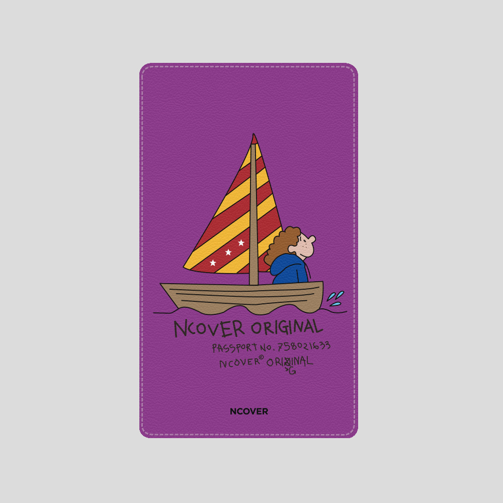 [앤커버] Sailing boat-purple(battery) THANK YOU 50% SALE! (4.13-4.19)