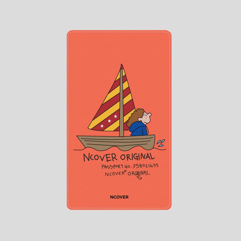 [앤커버] Sailing boat-orange(battery) THANK YOU 50% SALE! (4.13-4.19)