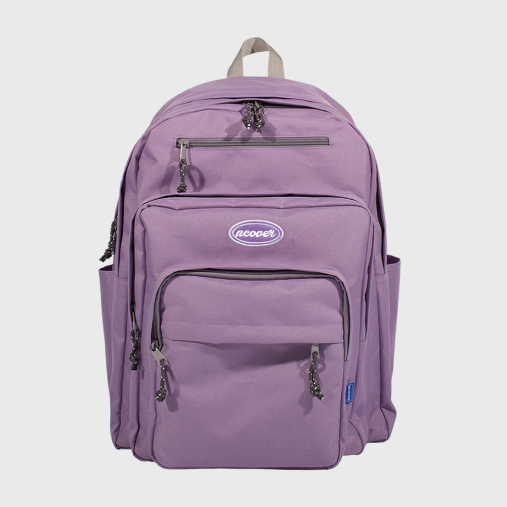 [앤커버] Traveler backpack-light purple (기간한정세일 5.18-5.24)